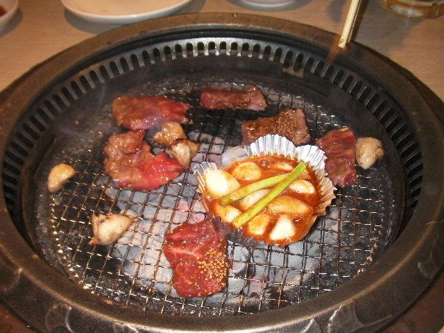 肉を焼く・・・焼かない!